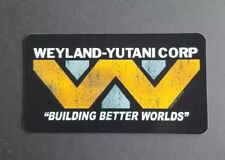 S150 Alien Weyland-Yutani movie film Sticker, laptop, wall, book, phone, tablet