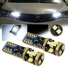 Bright White 6000K Error Free 3030-SMD 168 2825 LED Parking Position Light Bulbs