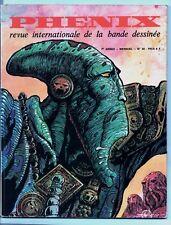Phénix n°30  - revue études BD - 1973 - Druillet - Pichard - Crepax