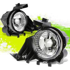 CLEAR GLASS LENS OE BUMPER FOG LIGHTS/LAMPS PAIR FOR 08-11 SUBARU IMPREZA/WRX