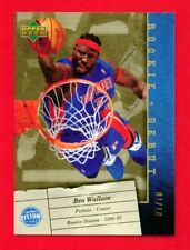2006 BEN WALLACE ROOKIE DEBUT GOLD NUMBERED 01/10 SSP ATOMIC PRIZM A 1/1 SSP