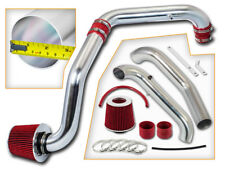 BCP RED 96-00 Civic CX DX LX 1.6L Cold Air Intake Racing System + Filter