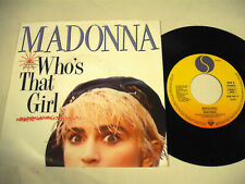 """MADONNA Who's That Girl - 7"""""""
