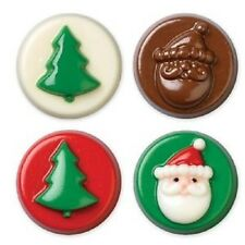 **WILTON**    Christmas Cookie (Oreo) Candy (Chocolate) Molds!