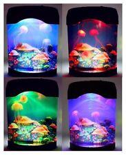 Tanque de medusas Led De Varios Colores Mar estado de ánimo Natación Lámpara de la sala de niños Luz De Noche