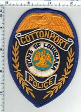 Cottonport Police (Louisiana) 1st Issue Uniform Take-Off Shoulder Patch