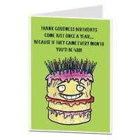 Funny 40th Birthday Card For Men & Women 40 Today Brother Sister Best Friend