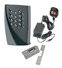Coded Access Control Door Entry Kit + PSU & Lock, IP54 Keypad with 100 Users