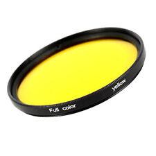 Filtro Colore Gelb / Giallo Effetto Colore Filtro 49 52 55 58 62 67 72 77 82 MM