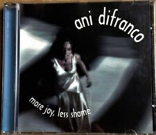 """ANI DIFRANCO """"MORE JOY LESS SHAME"""" 6 TRACK EP WITH RARE MIXES RIGHTEOUS BABE CD"""