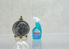 Dollhouse Miniature Plastic Window Cleaner Bottle
