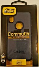 OtterBOX Commuter iPhoneX / Xs - Protective Case NAVY BLUE Brand New