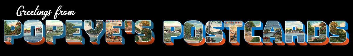 Popeye's Postcards