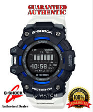 Casio G-Shock GBD100-1A7 G-SQUAD Bluetooth Mobile Link Black White Sports Watch