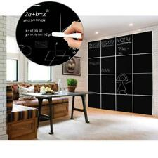 8pcs Removable Blackboard Chalkboard Decals Wall Sticker Home Office Decor
