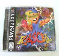 RASCAL   PLAYSTATION 1  VIDEO GAME   W/ MANUAL      VERY GOOD CONDITION