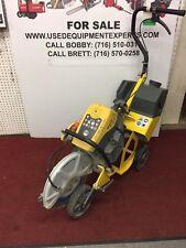 Wacker Neuson Bts635s 14 Cut Off Saw Diamond Blade Cart Sprinkling System Used