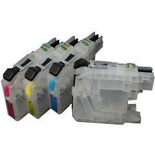 For Brother MFC-J985DW J985DWXL J5920DW Printer Refillable Ink Cartridge LC20E