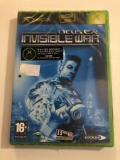 Xbox 1er Génération Deus Ex Invisible War /fR Neuf /New And Sealed