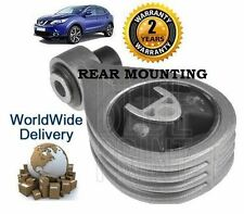 FOR NISSAN QASHQAI  1.5 DCi DIESEL 2006-2014 NEW REAR ENGINE MOUNTING