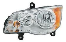 08 - 13 Town and Country Headlamp Headlight With Halogen bulbs 11-13 Caravan