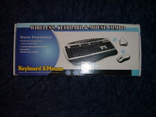 Wireless Keyboard Mouse Combo Wireless Keyboard Wireless Mouse Kit NIB