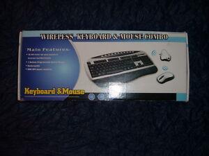 Wireless Keyboard Mouse Combo Wireless Keyboard Wireless Mouse Kit NIB