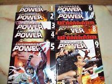 ULTIMATE POWER MARVEL 1 2 3 4 5 6 7 8 9 2006-2008