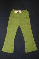 JACADI Girl's Aviser Green Sweatpants Size 10 Years NEW $42