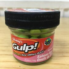 Berkley Gulp Original Floating Trout Fishing Salmon Eggs Bait Chartreuse