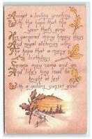 Postcard Accept a Loving Greeting 1913 C52