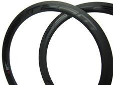 50mm Full Carbon Bike Rim 23mm x 700C Rims 20/24 Holes,Matte Customs Design