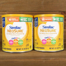 Similac NeoSure with Iron Powder Baby Formula 2-13.1 oz Cans Best By: 4/2022