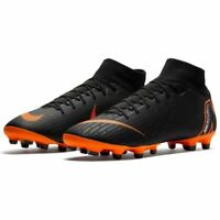 Nike Junior Superfly 6 Academy GS MF Cleats Soccer Shoes BLK//Orange AH7337 081