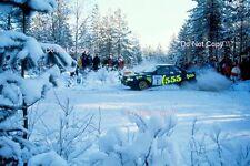 Colin McRae Subaru Impreza 555 Swedish Rally 1996 Photograph 2