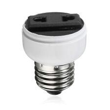 E27 Lamp Light Socket Holder Screw Bulb Convert To US EU Power Female Outlet