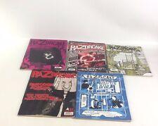 Razorcake Punk Rock Magazine 5 issues Lot 2011 #61 #63 #64 #65 #66 Music