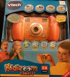 VTech Kidizoom Camera Connect 1.3MP for Kids Shoots Movies Stores 1000 Pix *NEW*