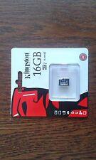 tarjeta de memoria mini SD de 16 gb. clase 10