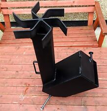 ROCKET STOVE; Excellent oven for hiking, fishing, hunting.