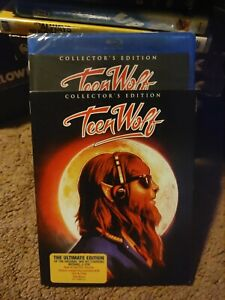 Teen Wolf Blu ray*Scream Factory*Rare Slipcover*Collector's Edition*Sealed/NEW*