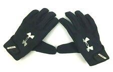 Under Armour Yard Baseball Batting Gloves Black Size Medium