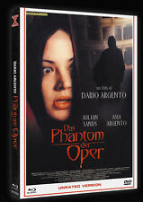 THE PHANTOM OF THE OPERA - 2 Disc Limited Edition MediaBook + Blu Ray & Dvd -