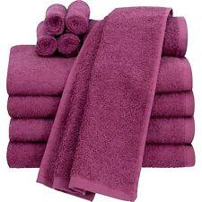 Mainstays Value 10-Piece Towel Set Bathroom Raspberry