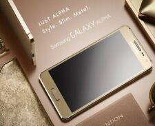 NEW SAMSUNG GALAXY ALPHA (Gold) G850 UNLOCKED Smartphone 32GB 12MP 4G LTE
