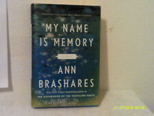 My Name Is Memory by Ann Brashares (2010, Hardcover)