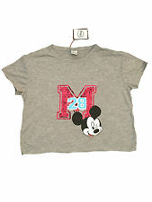 LADIES WOMENS DISNEY MICKEY MOUSE SEQUIN OFFICIAL GREY T SHIRT PRIMARK BNWT 18