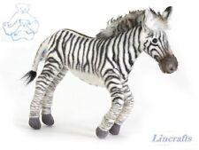 Zebra Plush Soft Toy by Hansa 23cm. 5263