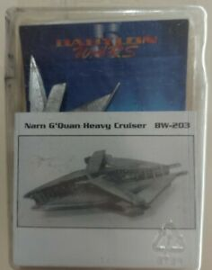 Babylon 5 Wars Agents of Gaming BW-203 Pewter NARN G'QUAN HEAVY CRUSIER