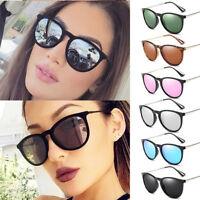 Womens Polarized Sunglasses Eyewear Retro Mirror UV400 Desinger Shades Glasses